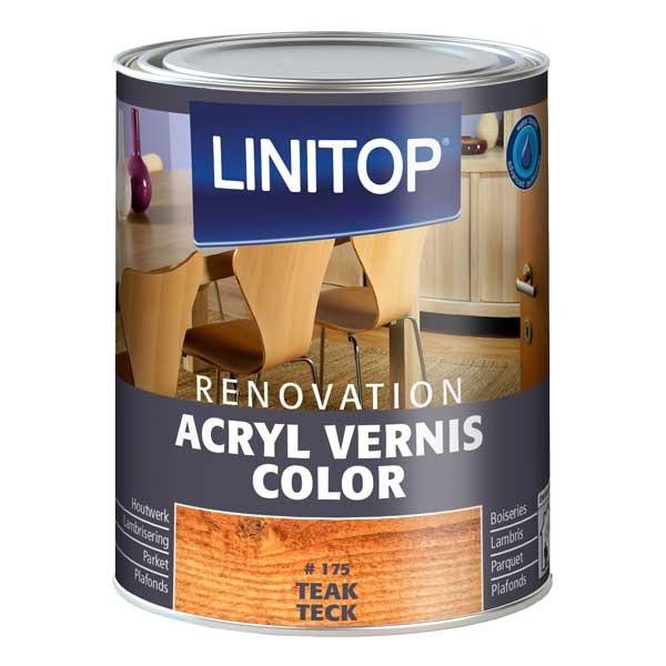linitop acryl vernis color vernis color effet patine cir e. Black Bedroom Furniture Sets. Home Design Ideas